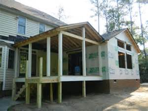 build screened in porches contractors builders cost