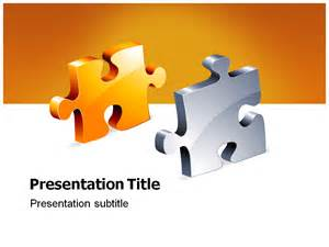 jigsaw puzzle powerpoint template free jigsaw powerpoint templates and backgrounds