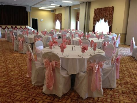 Baby Shower Chair Covers by White Chair Cover Rental Devoted Weddings And Events