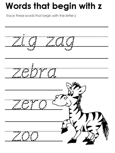 Kidzone Worksheets Tracers by Modern Manuscript Tracers Beginning Consonant Sounds