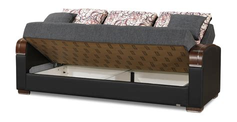 mobimax gray convertible sofa bed  casamode
