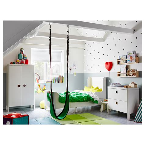 ikea childrens furniture busunge extendable bed white 80x200 cm ikea