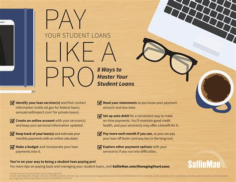 sallie mae student loan payment sallie mae provides grads with tips and tools to manage