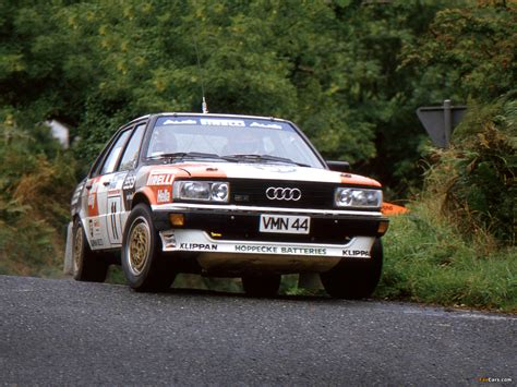 Audi 80 Rally by Audi 80 Quattro Rally Car B2 1983 1984 Pictures 1600x1200