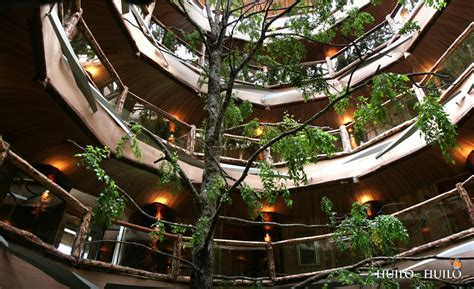 The National Bar And Dining Rooms by Huilo Huilo Hotel Nothofagus Former Hotel Baobab