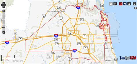 Duval Fl Search Duval County Florida Property Search And Interactive Gis Map