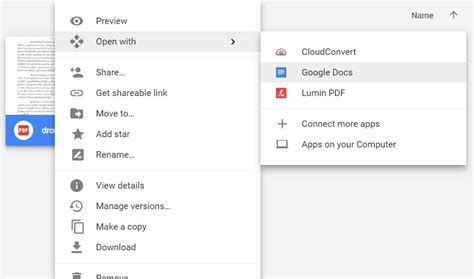 drive pdf google drive ทำแบบน ได ด วย แปลงไฟล ภาพสแกนเอกสารและ