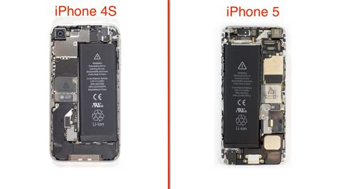 iphone hardware layout iphone 5 teardown redesigned case and interior simplify