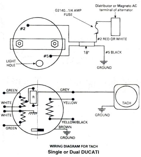 aircraft wiring diagram ducati tachometer for rotax two