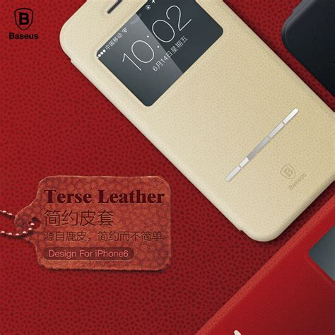 Baseus Lustre Series For Iphone 6 Plus 6s Plus 1 deluxe original baseus terse series flip leather for