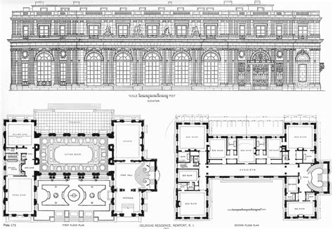 large mansion floor plans big house floor plans awesome small mansion house plans