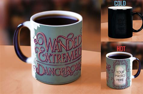 design your own mug heat sensitive fantastic beasts wanded and dangerous teal personalized