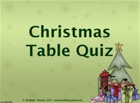 christmas themed quiz questions quizzes 171 christmas resources for teachers nollaig shona