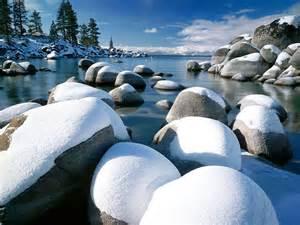 scenery wallpaper fond ecran gratuit paysage sous la neige
