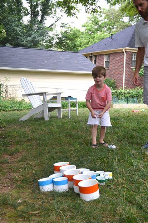 homemade backyard games diy backyard games how to make a yard pong set