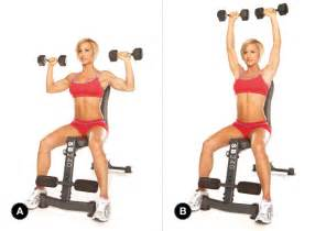 Reverse Grip Bench Press Gym Inspiration Com Seated Dumbbell Press