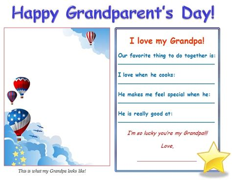 grandparents day template gifts to make a moment for