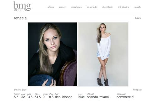 Bmg Modeling Agency by Renee Model Development Headshot Photographer Orlando