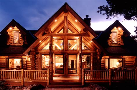 Cabin Designs Plans by Manufactured Log Homes Yellowstone Log Homes
