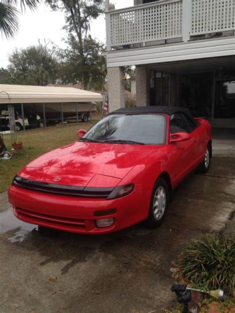 old car owners manuals 1992 toyota celica transmission control 1992 toyota celica convertible gt for sale toyota celica 1992 for sale in waverly georgia
