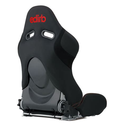 reclining racing seats edirb 033 carbon reclining racing seat red logo w red