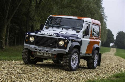 land rover dakar land rover defender rally series launched autocar