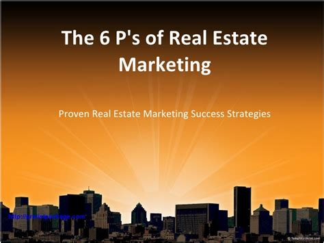 Real Estate Presentation Marketing Strategies Real Estate Marketing Presentation Template