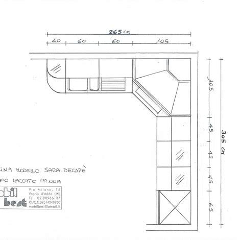 misure mobili cucina ad angolo cucina ad angolo misure 60 images mobili stapane