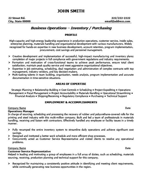 Resume Templates 101 by Operations Manager Resume Template Premium Resume