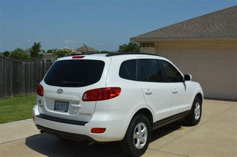 2008 hyundai santa fe for sale by private owner in largo purchase used 2008 hyundai santa fe gls sport utility 4 door 2 7l in rockwall texas united