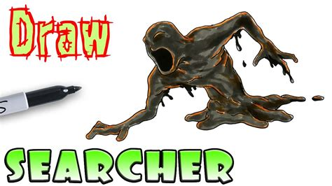 The Searcher how to draw the searchers from bendy and the ink machine