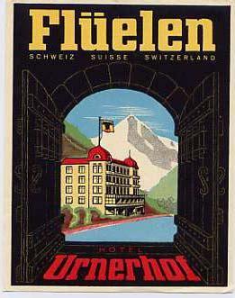 moderne flurlen hotelletiketter schweiz