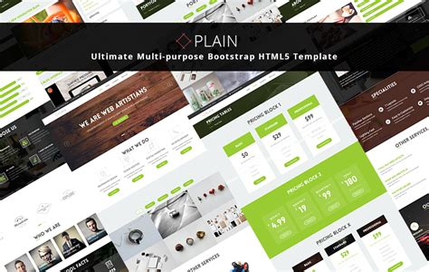 html5 templates for business applications plain multi purpose bootstrap html5 template graygrids