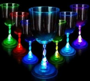 Led Barware by 2 X Led Wine Glasses Light Up Barware Drink Cup