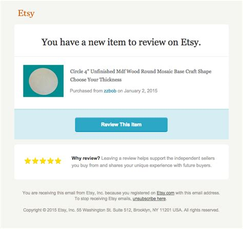 etsy pattern website review etsy really good emails
