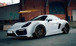Porsche Wide Rendering Bengala Porsche Cayman Wide