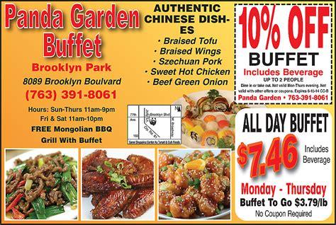 panda garden brooklyn center coupon