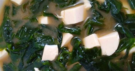 resep miso soup enak  sederhana cookpad