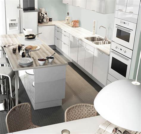 Ikea Kitchen Island Ideas Dise 241 O Cocina Moderna Con Concepto Funcional Casas Decoracion
