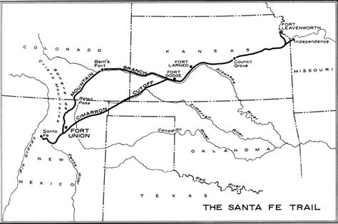 map of oregon trail through kansas santa fe trail diary of susan magoffin earthstonestation