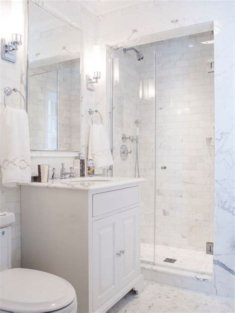 White Bathroom by Small White Bathroom Houzz