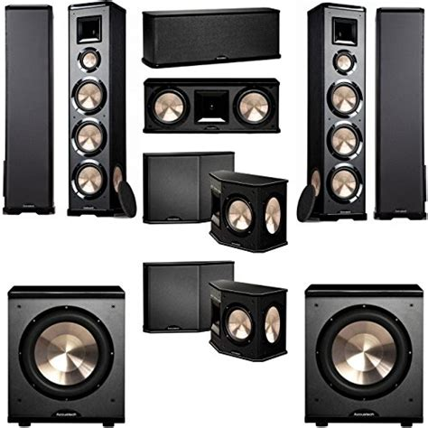 bic acoustech pl 980 7 2 home theater system new pl