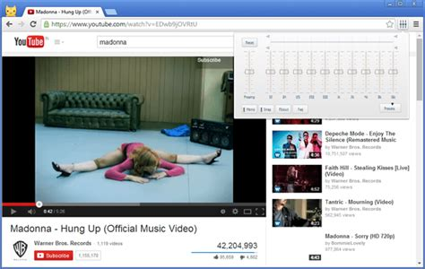 chrome equalizer how to get an audio equalizer while playing youtube videos