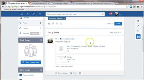 edmodo notes posting notes and alerts in edmodo youtube