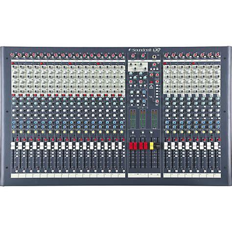 Mixer Yamaha 24 Channel soundcraft lx7ii 24 channel mixer musician s friend