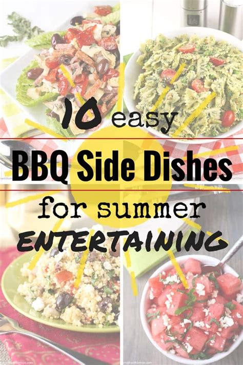 10 easy bbq side dishes garnish with lemon