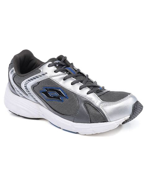 lotto sport shoe lotto gray sport shoe price in india buy lotto gray