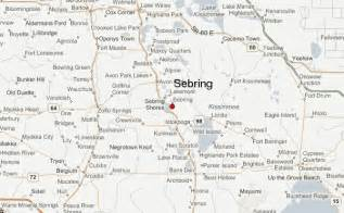 where is sebring florida on map sebring florida location guide