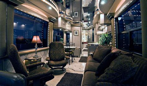 Winnebago Fifth Wheel Floor Plans by These Are The Most Luxurious Bus Designs On The Road Today