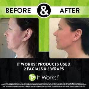 it works skin care products it works crazy body wraps